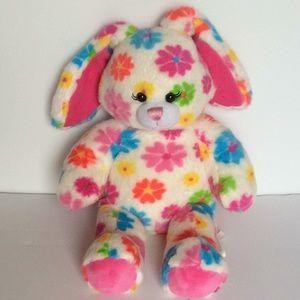 Build a Bear Flowered Bunny Rabbit Everyday Easter